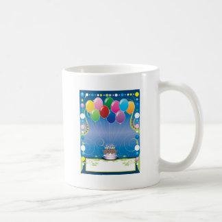 Birthday Party Balloons Coffee Mugs