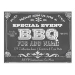 Birthday Party   BBQ   Vintage Chalkboard