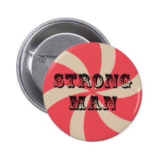 Birthday Party Buttons - Strong Man (Circus Theme)