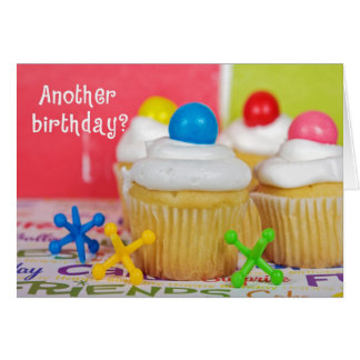 Birthday Party Cakes Greeting Card
