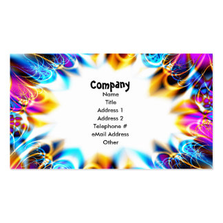 Birthday Party Celebration Business Card Template