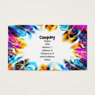 Birthday Party Celebration Business Card