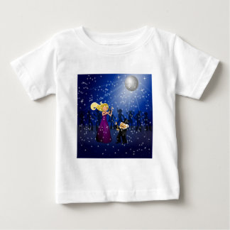 Birthday Party Couple Dancing Baby T-Shirt