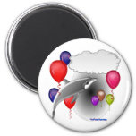 Birthday Party Dolphin that talks Magnet