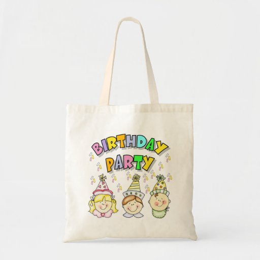 Birthday Party For Kids Tote Bags