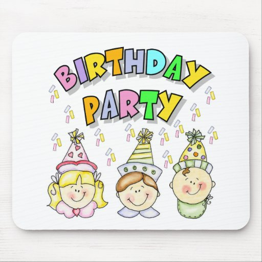Birthday Party For Kids Mousepad