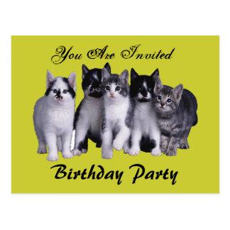 Birthday Party from Junglewalk com Postcards