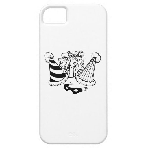 Birthday Party Gift and Hats iPhone 5 Covers