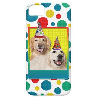Birthday Party Hat - Golden Retriever Tebow Corona Barely There iPhone 5 Case