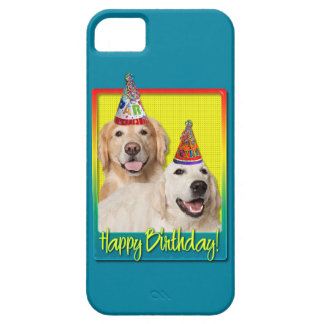 Birthday Party Hat - Golden Retriever Tebow Corona iPhone 5 Cases