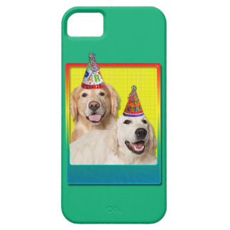 Birthday Party Hat - Golden Retriever Tebow Corona iPhone 5 Cover