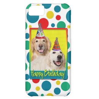Birthday Party Hat - Golden Retriever Tebow Corona iPhone 5C Case