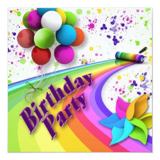 Birthday Party Invitation - Children - Uni-sex