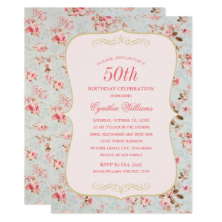 Birthday Party Invitation | Garden Party Theme