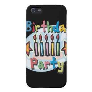 Birthday Party Invitation Covers For iPhone 5