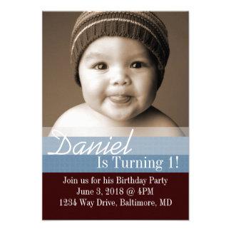 Birthday Party Invite B-Day I dbrbl