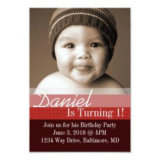 "Birthday Party Invite | B-Day I |dbrre 3.5"" X 5"" Invitation Card"