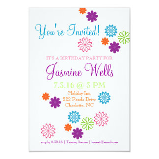 Birthday Party Invite | Colors of Fun
