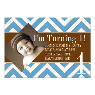 Birthday Party Invite Turning chevblubr