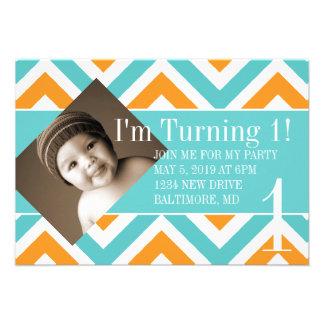 Birthday Party Invite Turning chevortur