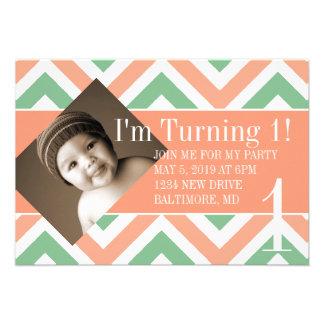 Birthday Party Invite Turning chevpchmulti