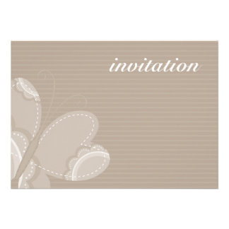 BIRTHDAY PARTY INVITES flutterby butterfly 5L