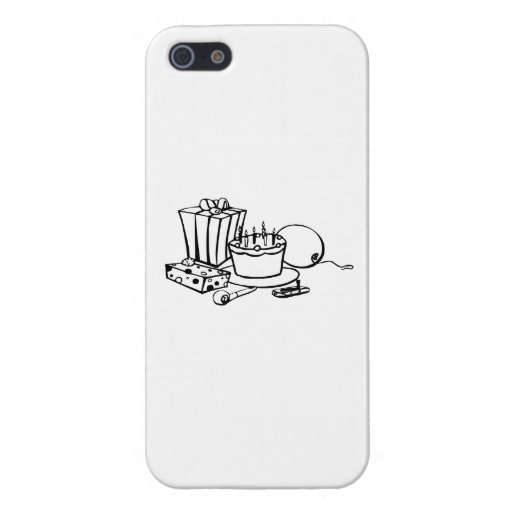 Birthday Party Cover For iPhone 5