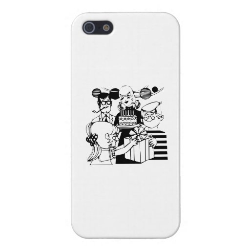 Birthday Party Covers For iPhone 5
