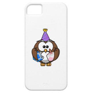 Birthday Party Owl iPhone 5/5S Case