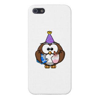 Birthday Party Owl iPhone 5 Cases