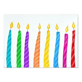 Birthday Party - SRF 11 Cm X 16 Cm Invitation Card