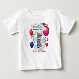 Birthday Party Tiki Baby T-Shirt