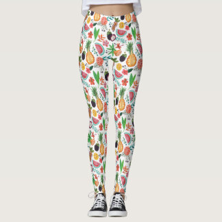 Birthday Party | Tropical Fruit | Leggings