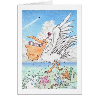 Birthday Pelican Card