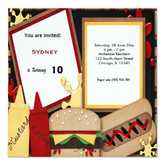 Birthday Picnic Invitation