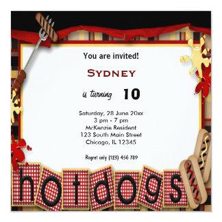 Birthday Picnic Personalized Invitations