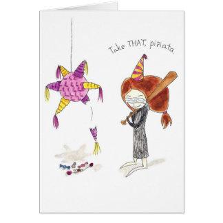 Birthday Pinata Card