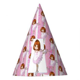 Birthday Pink Ballerina Party Hat