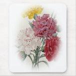 Birthday Pinks - Soft Edged Oval Mousepad