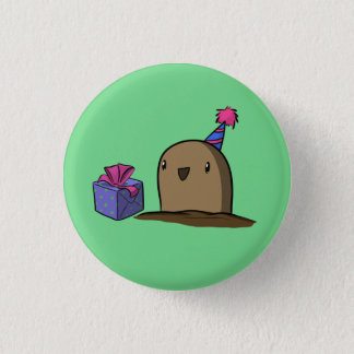 Birthday Potato 3 Cm Round Badge