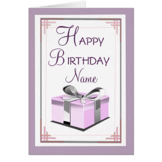 Birthday Present Greeting Card