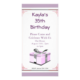 Birthday Present Picture Card