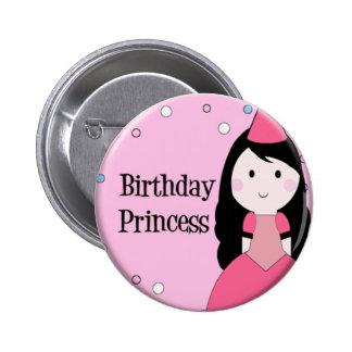 Birthday Princess 6 Cm Round Badge
