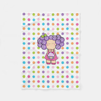 Birthday Princess Fleece Blanket