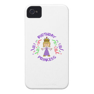 BIRTHDAY PRINCESS FULL FRONT iPhone 4 COVERS