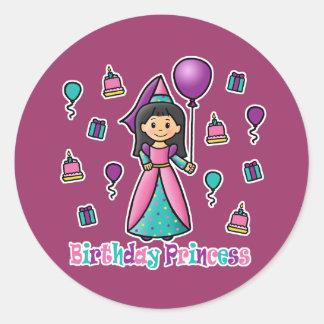 Birthday Princess Sticker