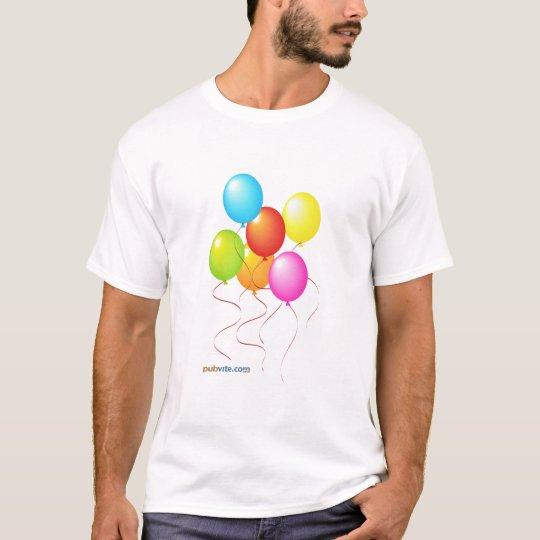 Birthday Pub Crawl - Pubvite.com T-Shirt