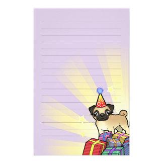 Birthday Pug Stationery