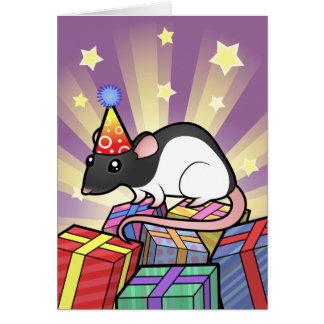Birthday Rat Card