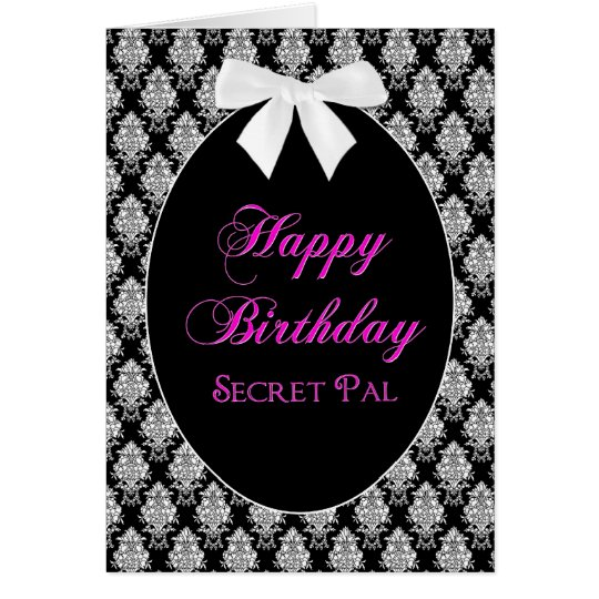BIRTHDAY - SECRET PAL - MEMORIES CARD